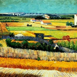Van-gogh-the-harvest