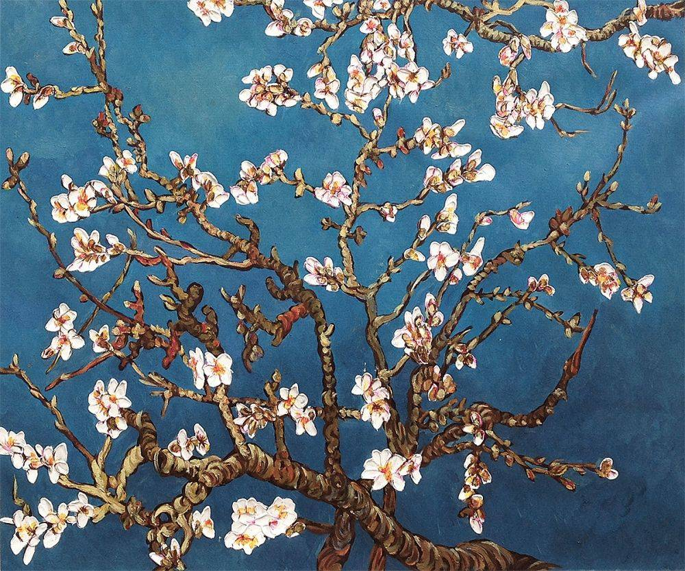 Van Gogh Museum Quality Reproduction Branches Of An Almond